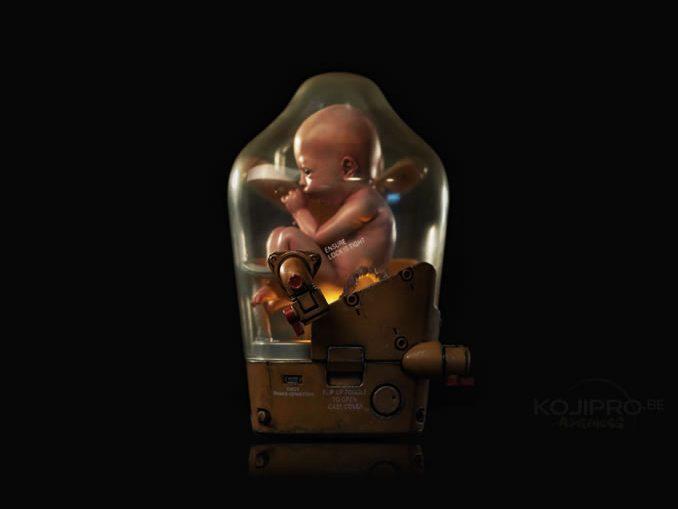 La capsule du bébé porté par Sam | E3 2018