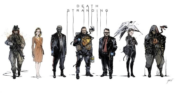 Artwork de Death Stranding - TGS 2018