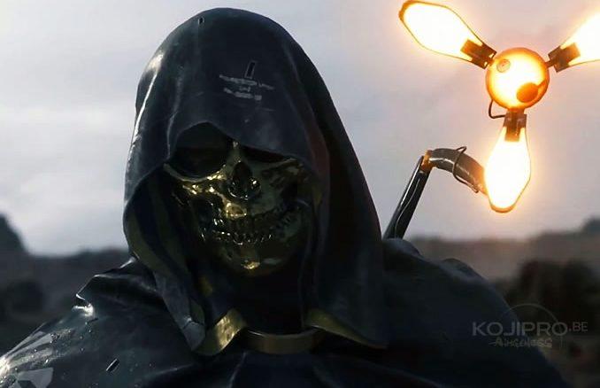 « L'homme au masque doré » incarné par Troy Baker dans Death Stranding