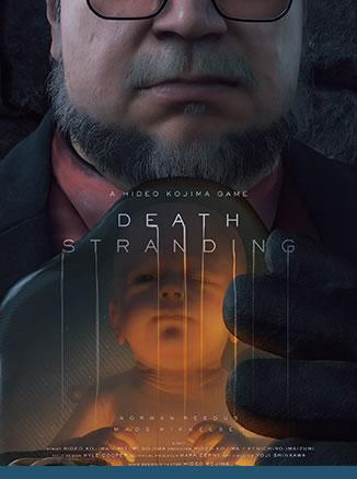 Affiche de Death Stranding – Guillermo del Toro