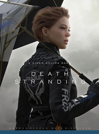 Affiche de Death Stranding – Léa Seydoux