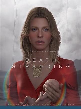 Affiche de Death Stranding – Lindsay Wagner