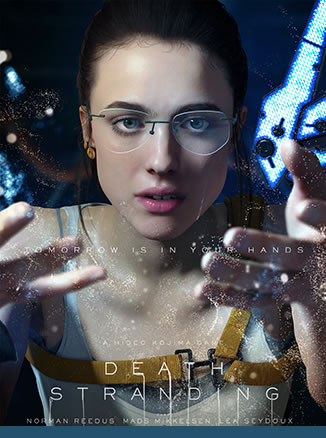 Affiche de Death Stranding – Margaret Qualley