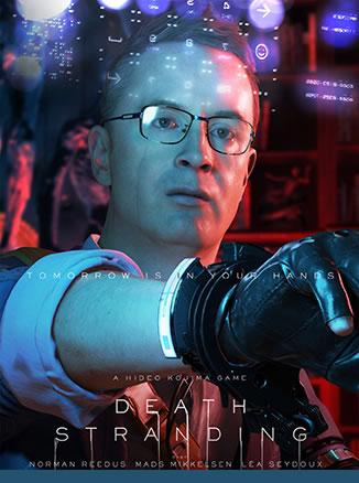 Affiche de Death Stranding – Nicolas Winding Refn