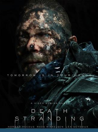 Affiche de Death Stranding – Norman Reedus