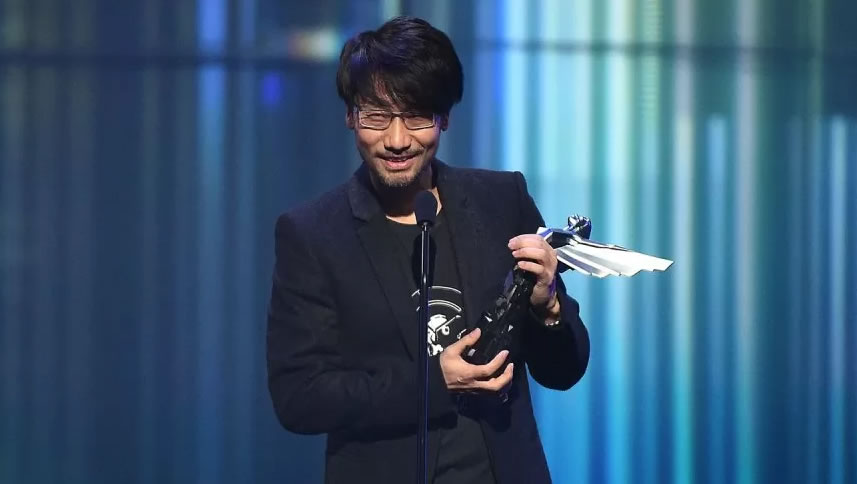 Hideo Kojima récompensé d'un « Industry Icon Award » aux Game Awards, le 1er décembre 2016