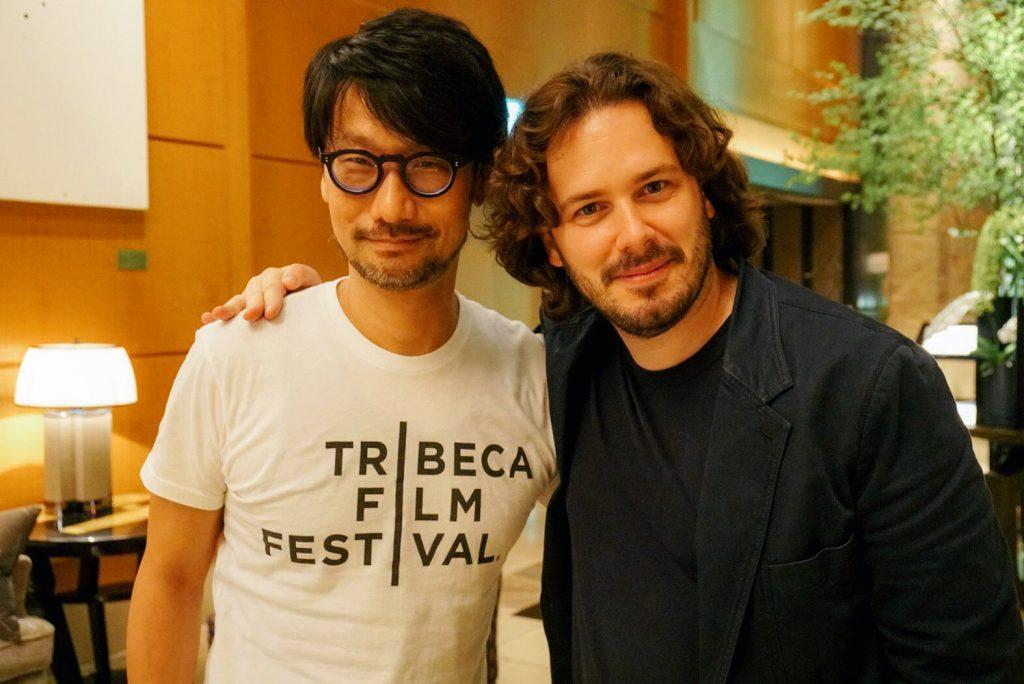 Hideo Kojima et Edgar Wright à Tokyo, le 3 août 2017