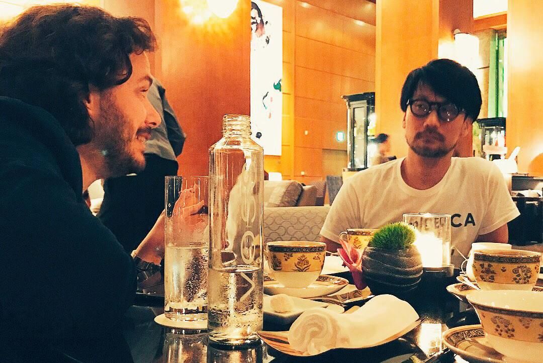 Edgar Wright et Hideo Kojima à Tokyo, le 3 août 2017