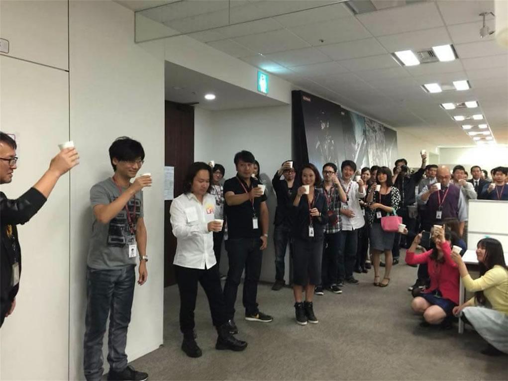 Fête de départ de Hideo Kojima