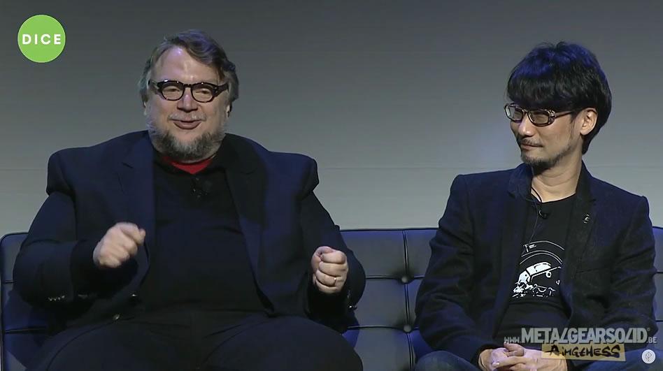 Guillermo del Toro et Hideo Kojima (D.I.C.E. 2016)
