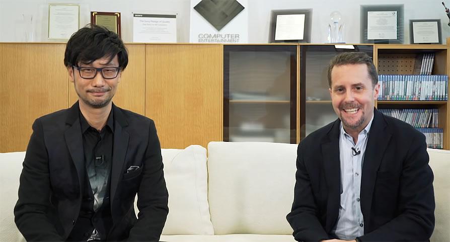 Hideo Kojima et Andrew House