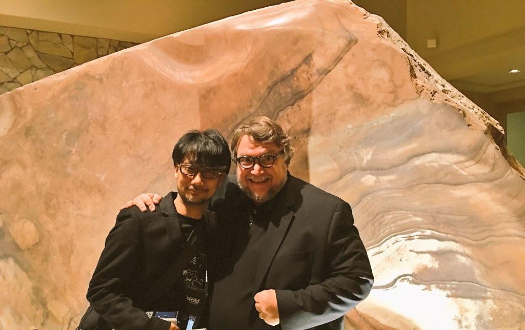 Hideo Kojima et Guillermo del Toro (D.I.C.E. 2016)