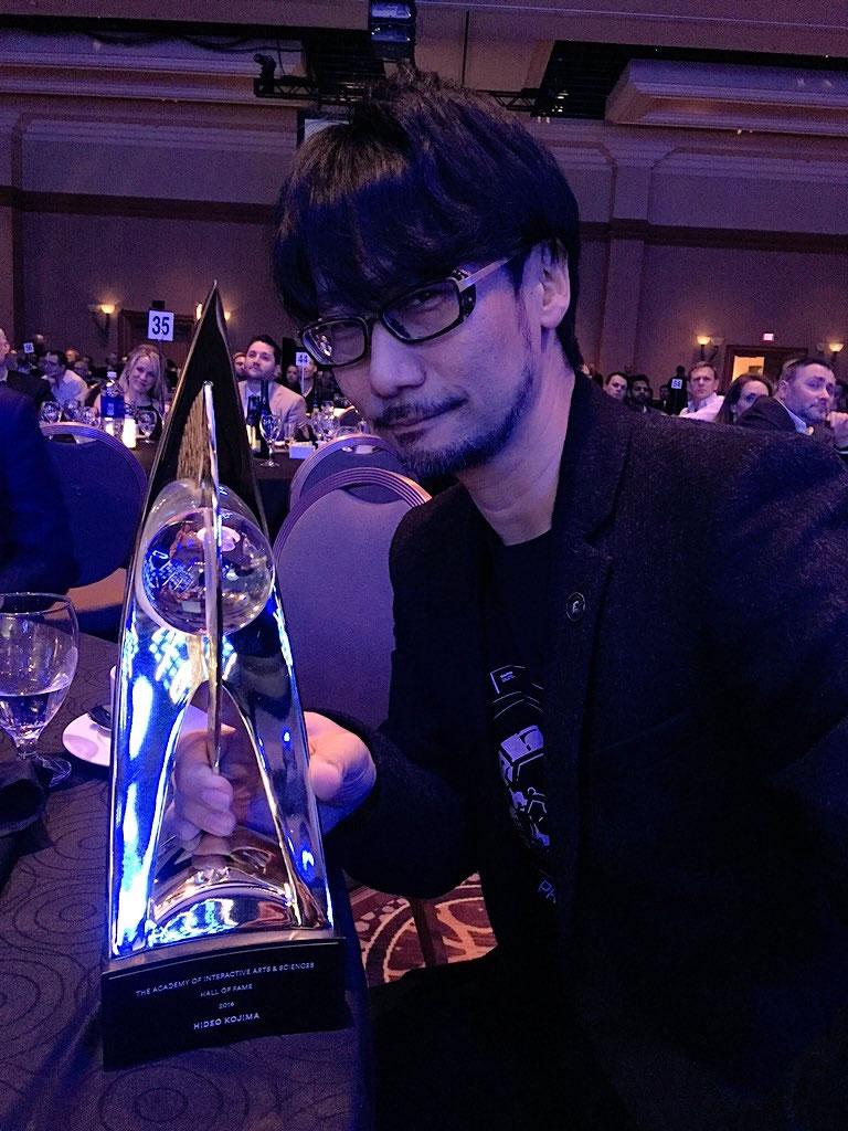 Hideo Kojima et son Hall of Fame