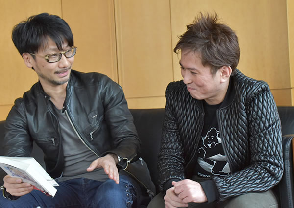 Hideo Kojima et Minoboshi Tarô