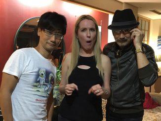 Hideo Kojima, Donna Burke et Akio Otsuka (2015)