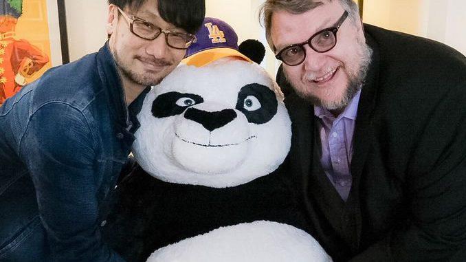 Hideo Kojima et Guillermo del Toro, le 25 mars 2016