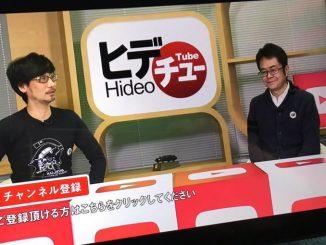 Hideo Kojima et Kenji Yano | HideoTube #1, le 13 janvier 2016