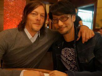 Norman Reedus et Hideo Kojima, le 16 février 2016