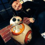 « J'étais ravi de rencontrer BB-8 et J.J. Abrams, hier soir. » - Ken Imaizumi