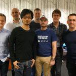 « Avec les gars du London Studio. Merci ! » - Hideo Kojima