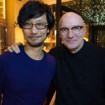 « Avec Midge Ure-san à Londres. Il m'a offert un vinyle unique au monde. » - Hideo Kojima