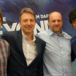 « Avec Mark-san, Guillaume-san et David Cage-san de Quantic Dream. » - Hideo Kojima