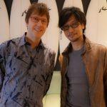 « En voyage de dix jours à la recherche des dernières technologies avec Mark-san. Il s'agit d'un tour du monde !  » - Hideo Kojima