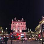 « Londres de nuit. » - Ayako Terashima