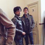 « Mark Cerny et Hideo Kojima à Amsterdam. » - Ayako Terashima