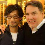 « En compagnie de Shawn [Layden] de SCEA. » - Hideo Kojima