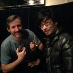 « Ces deux-là se vantent de porter des caleçons Star Wars lol. Brian c'est Chewbacca et Hideo Kojima c'est Darth Vader. » - Ayako Terashima