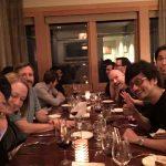 « Dîner avec l'équipe de Sucker Punch ! On s'amuse, je les adore !!! » - Ken Imaizumi