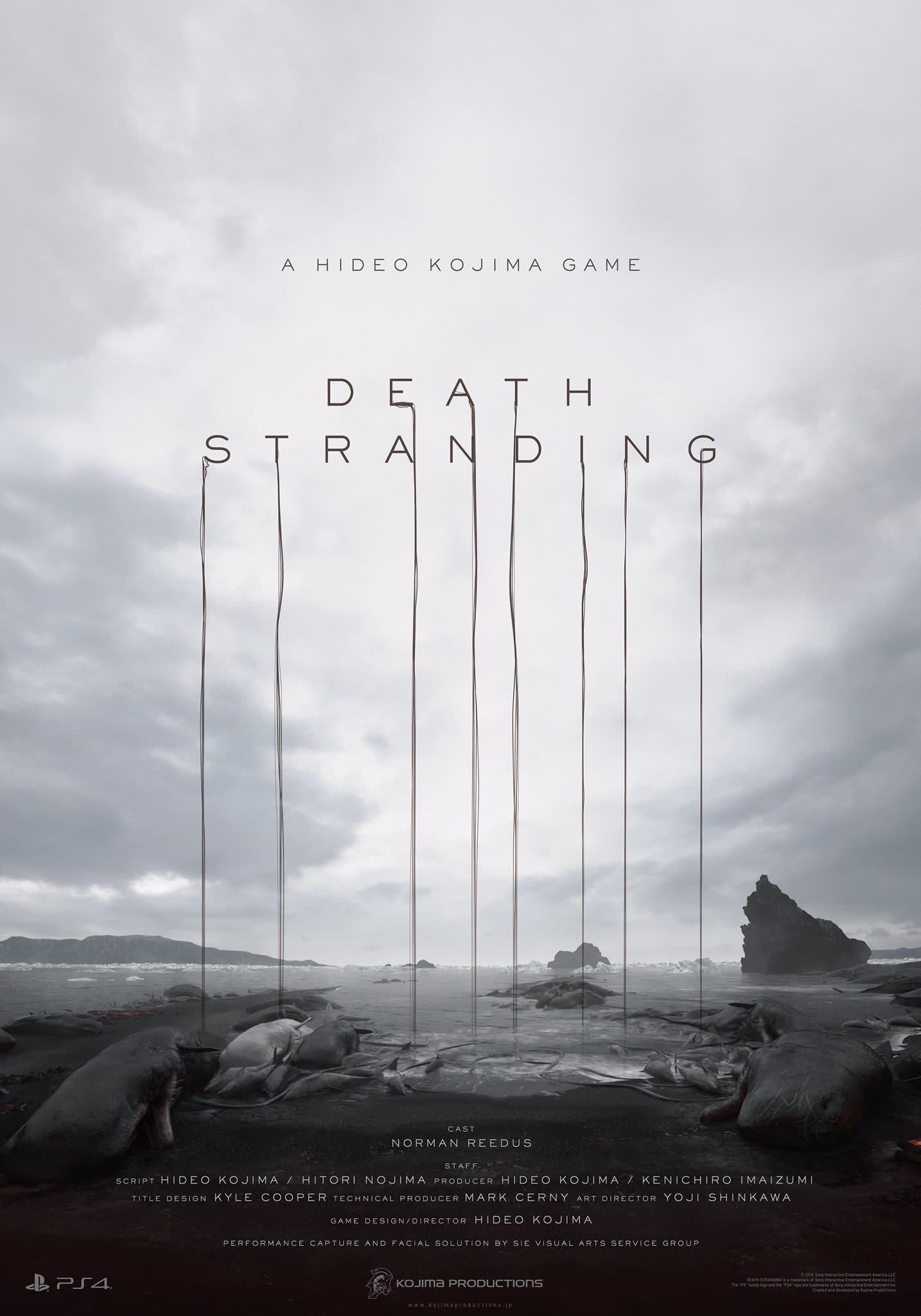 Affiche de Death Stranding – Kojima Productions
