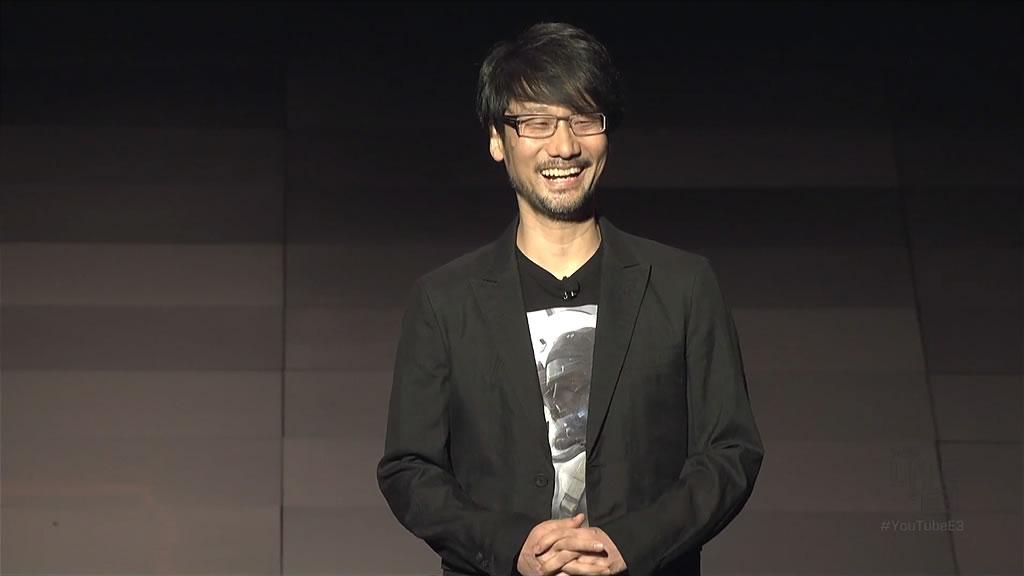 Hideo Kojima lors de la conférence de Sony – E3 2016