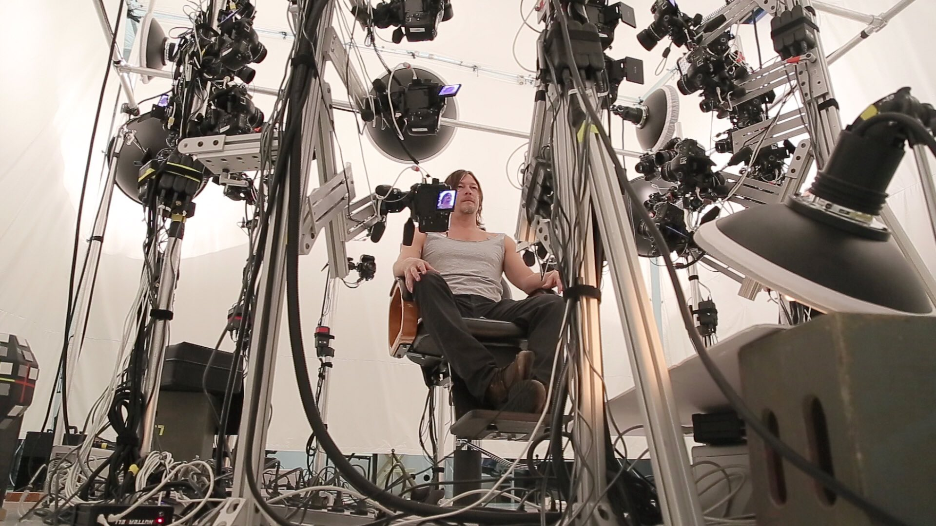 Norman Reedus – Performance capture de Death Stranding