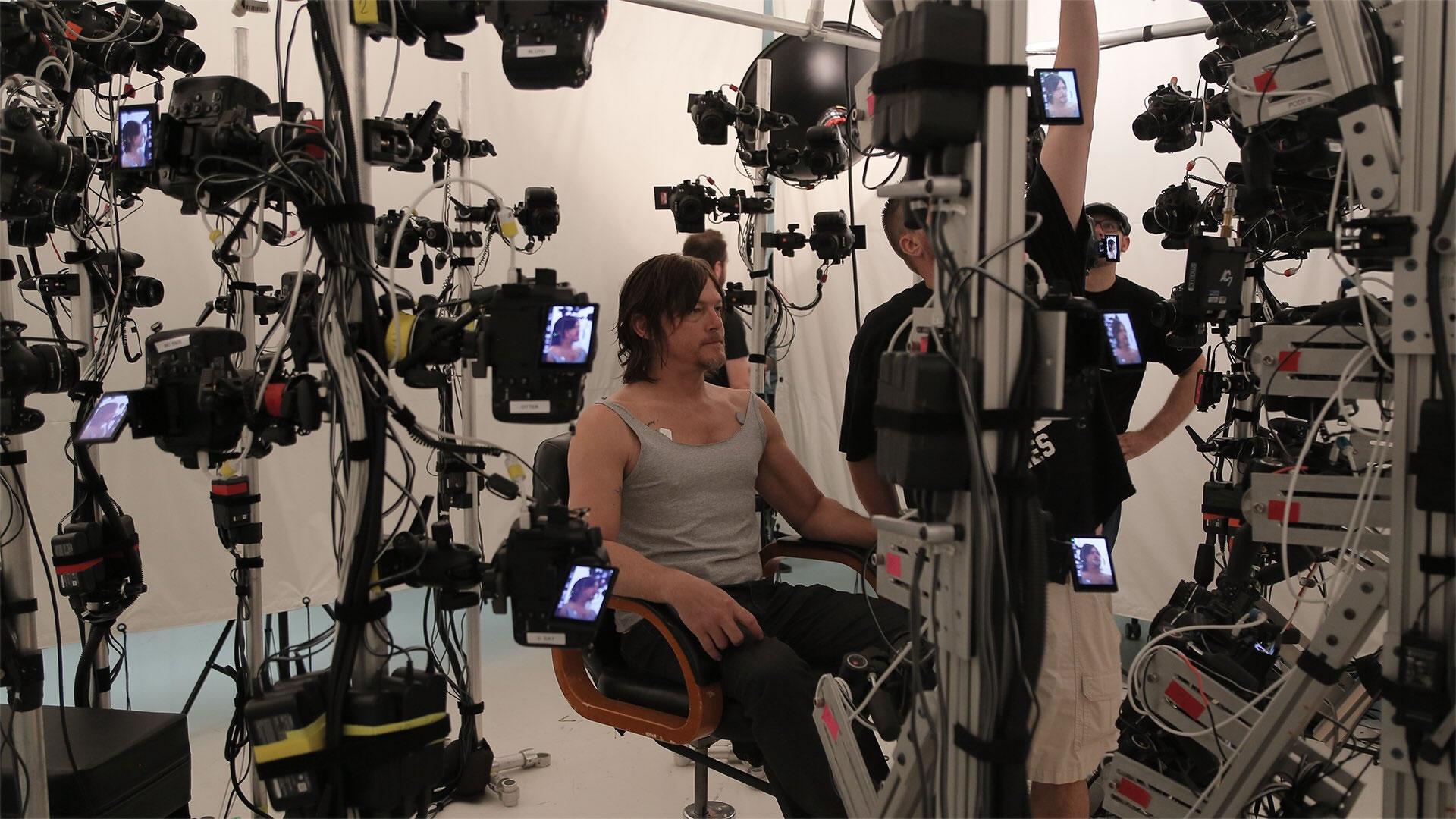 Norman Reedus – 3D Scan et Performance Capture de Death Stranding