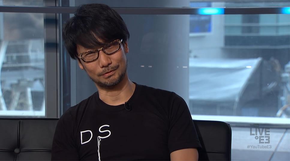 Hideo Kojima dans l'émission de Geoff Keighley – E3 2016