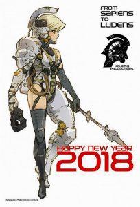 Les bons vœux de Kojima Productions et un nouvel artwork inédit de Yoji Shinkawa