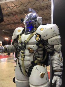 La statuette de Ludens par Prime 1 Studio à la Comic-con de Tokyo, le 2 décembre 2016