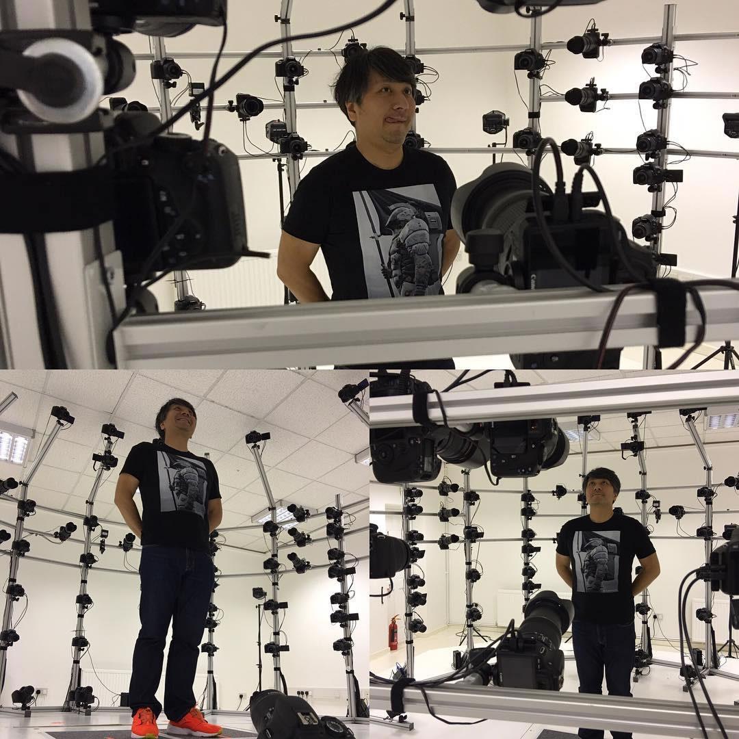 Ken Imaizumi – 3D scanning session (21 août 2016)