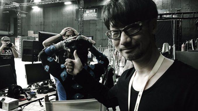 Hideo Kojima de retour en séances de Pcap - Mars 2016