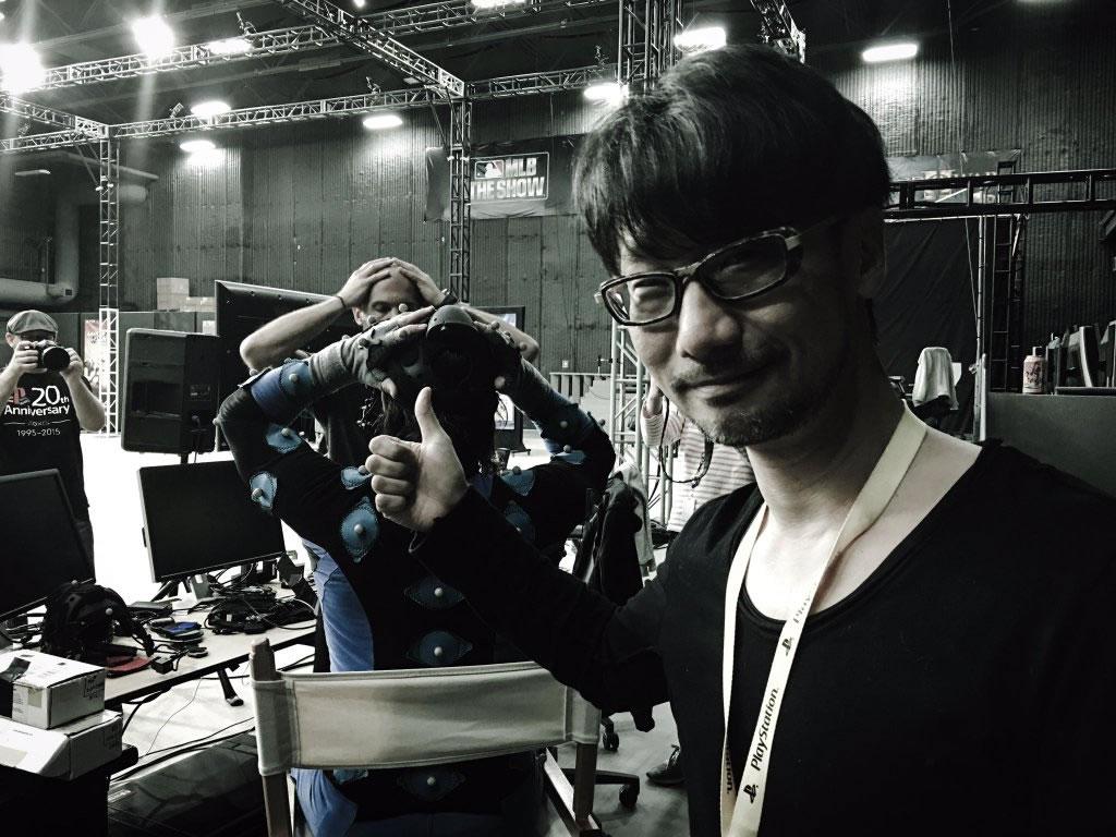 Hideo Kojima de retour en séances de Pcap – Mars 2016