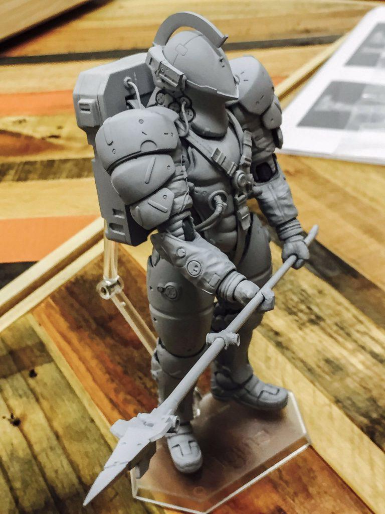 Figurine Figma de Ludens, la mascotte de Kojima Productions - 12 octobre 2016