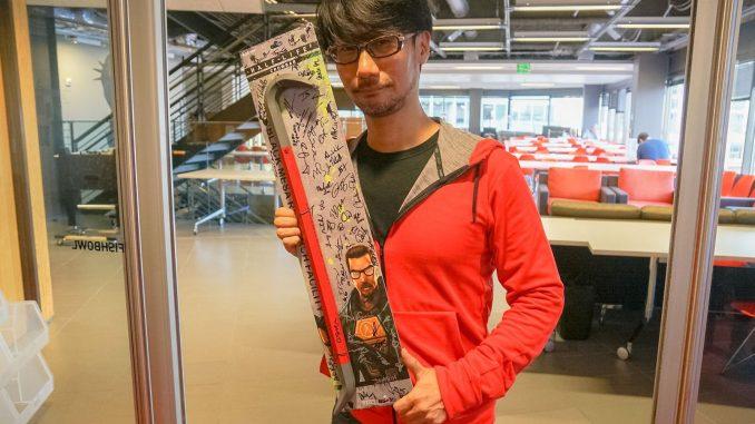 « Ils [Valve] nous ont offert ces cadeaux. Merci ! » - Hideo Kojima, le 18 octobre 2016