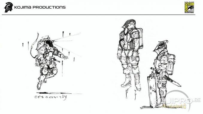 Artworks de Yoji Shinkawa pour la création de Ludens