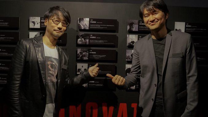 Hideo Kojima et Tetsuya Mizuguchi, Wired Audi Innovation Award, le 7 décembre 2016