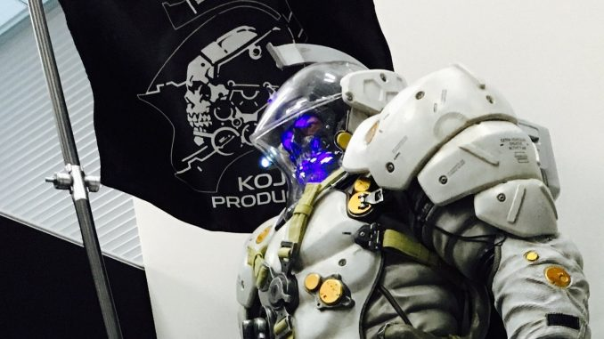 La statuette de Ludens chez Kojima Productions, le 15 décembre 2016