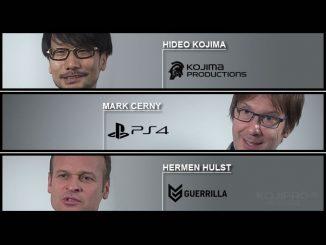 Hideo Kojima, Mark Cerny et Hermen Hulst reparlent de Death Stranding et de son moteur Decima