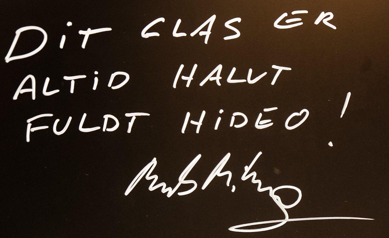 Mot de Mads Mikkelsen qui est en visite chez Kojima Productions, le 25 janvier 2017