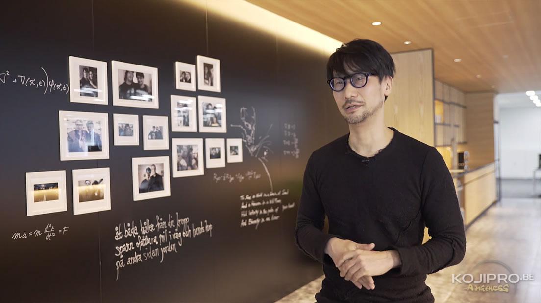 Hideo Kojima – Les bureaux de Kojima Productions dévoilés en vidéo